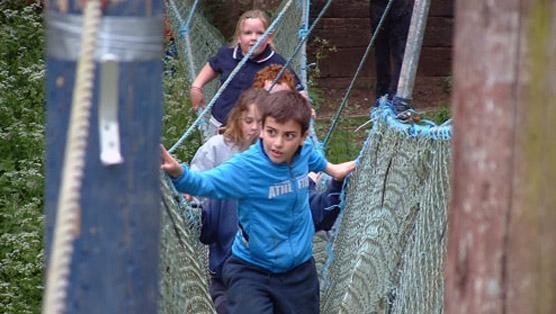 High Ropes/Zip Line - Morfa Bay AdventureMorfa Bay Adventure
